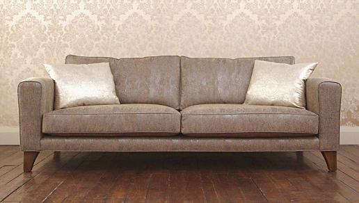 John Sankey Voltaire Sofa in Pattern Fabric