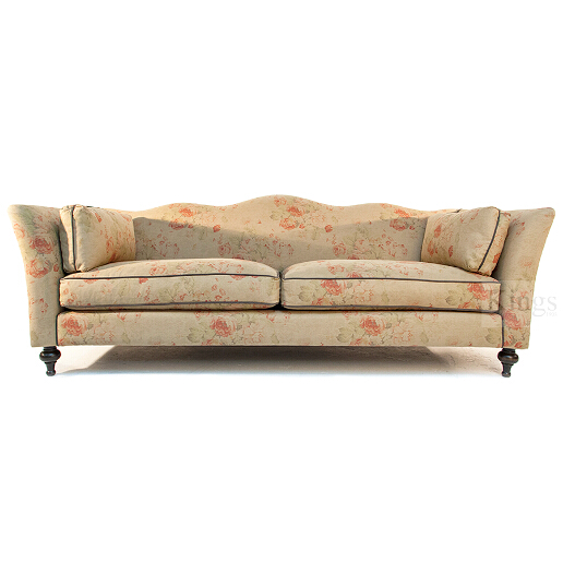 John Sankey Wolseley Sofa in Toulon Antique Fabric