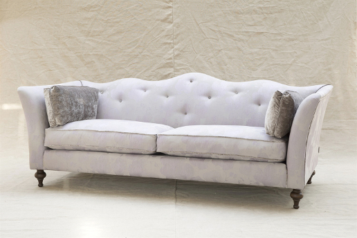 John Sankey Wolseley Sofa in Babington Rose Quartz