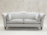 John Sankey Wolseley Sofa in Palmer Linen Fabric with Contrast Piping