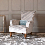 John Sankey Wooster Chair from Kings Interiors - the Ideal Place for Luxury Handmade British Upholstery, Furniture and Flooring, Best Prices in the UK.