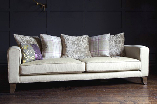 John Sankey Voltaire Sofa with Cushion Back