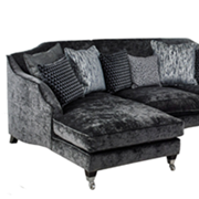 Corner Units.Luxury modern contemporary sofas and corner units in fabric and leather.