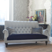 John Sankey Holkham at Kings the home of fine upholstery.John Sankey fine upholstery
