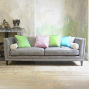 John Sankey Tuxedo King Size Sofa from Kings Interiors - the ideal place for luxury handmade British upholstery, bespoke furniture and top brand flooring at best prices in UK