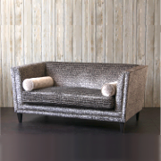 John Sankey Tuxedo Small Sofa from Kings Interiors - the ideal place for luxury handmade British upholstery, bespoke furniture and top brand flooring at best prices in UK