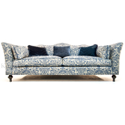 John Sankey Wolseley King Size Sofa from Kings Interiors - the ideal place for luxury handmade British upholstery, bespoke furniture and top brand flooring at best prices in UK