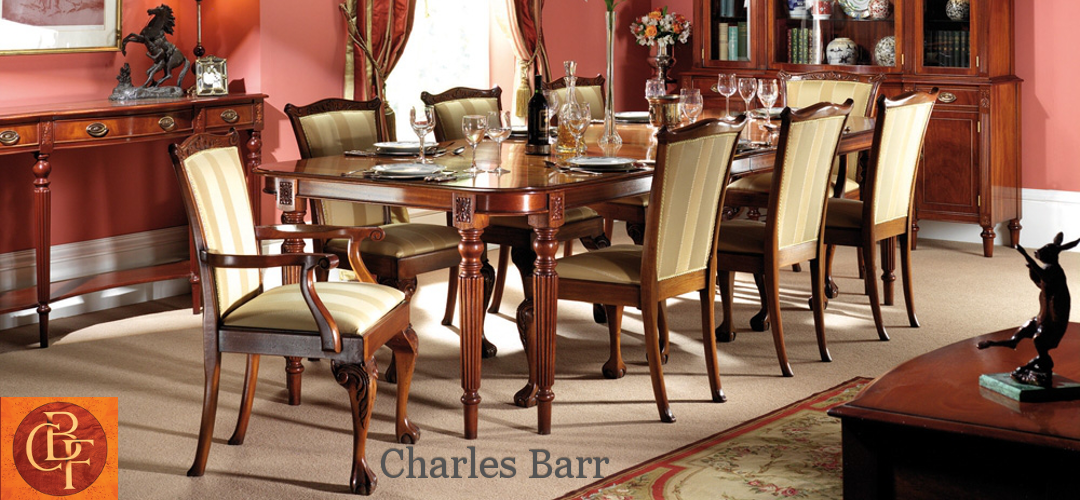 Charles Barr The finest quality handmade cabinet furniture at Kings of Nottingham.