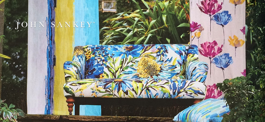 John Sankey Beckett - Finest Quality Handmade Designer Upholstery Retailer based in Nottingham. Best Prices and Free Delivery in the UK