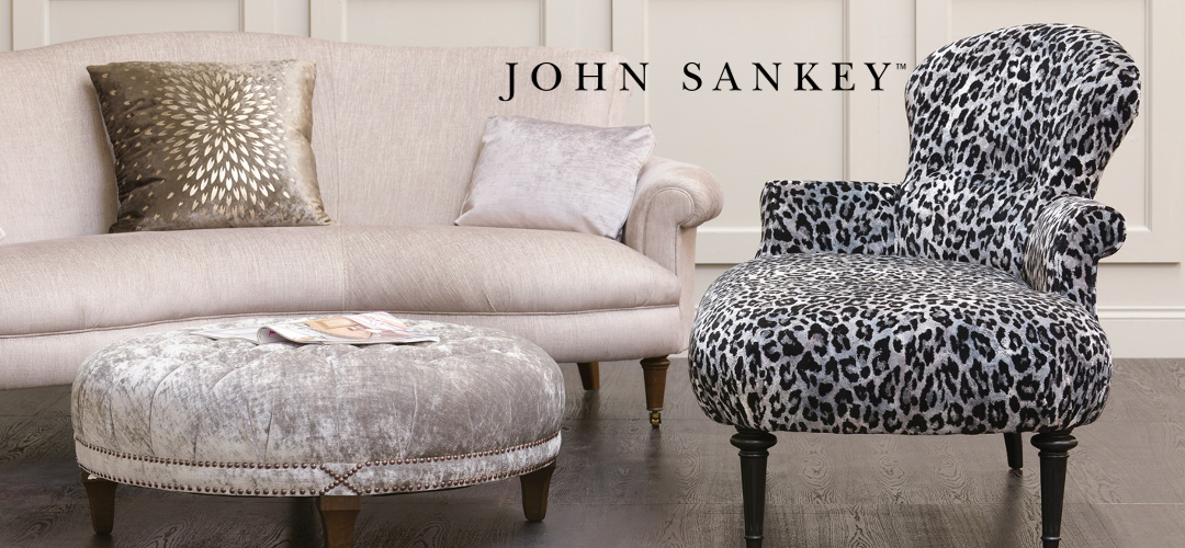 John Sankey Clara Chaise - Finest Quality Handmade Designer Upholstery Retailer based in Nottingham. Best Prices and Free Delivery in the UK