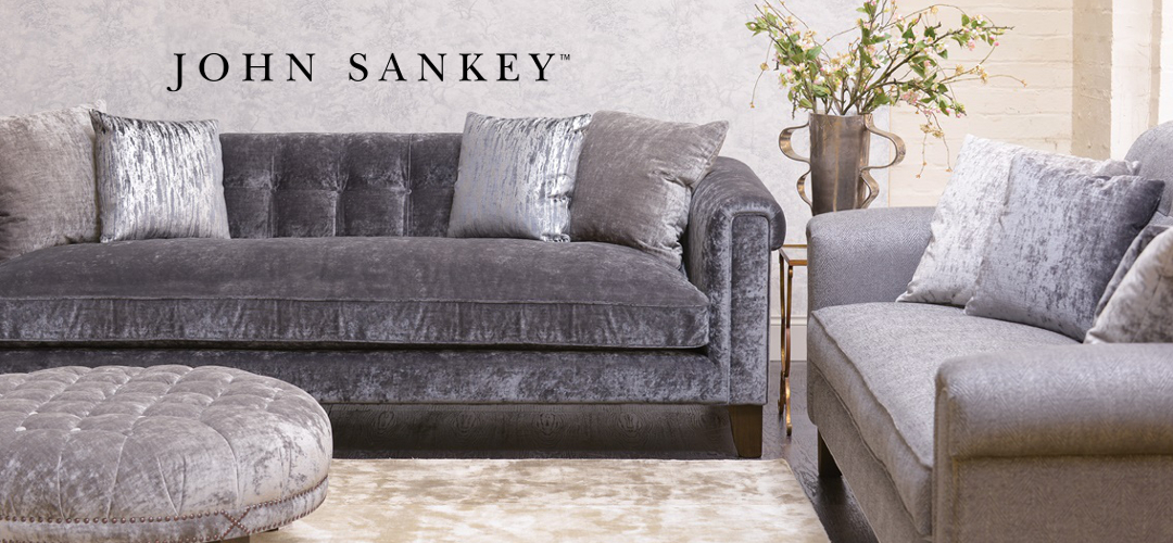 John Sankey Mitford Lounger - Finest Quality Handmade Designer Upholstery Retailer based in Nottingham. Best Prices and Free Delivery in the UK