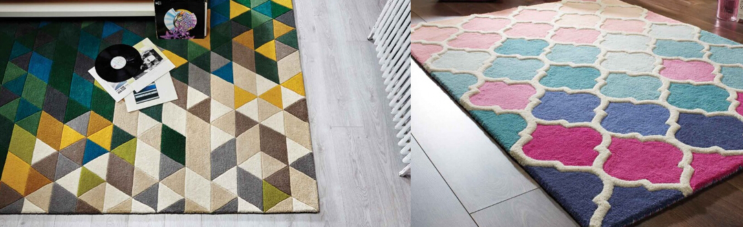 Flair Rugs Illusion at Kings Interiors