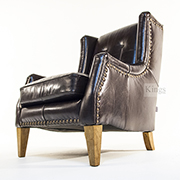 Alexander and James Copenhagen Chair in Luxury Leather