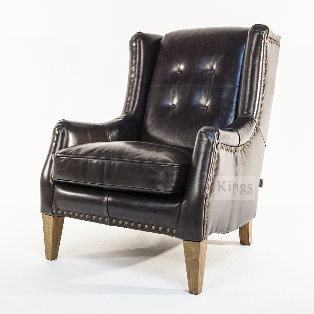 Alexander And James Copenhagen Chair In Luxury Leather Kings