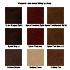 Alexander & James Sofas and Chairs Collection Leather Samples Colour Swatches Vol 1