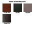 Alexander & James Sofas and Chairs Collection Leather Samples Colour Swatches Vol 4
