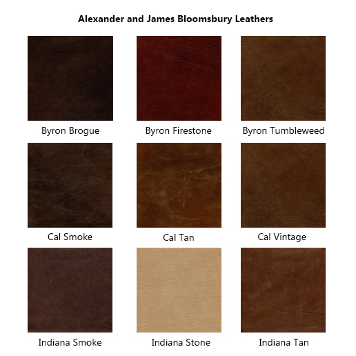 Alexander and James Bloomsbury Leathers 1