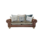 Alexander and James Bloomsbury Small Pillow Back Sofa
