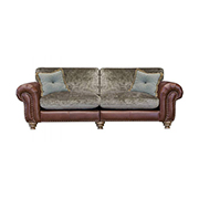Alexander and James Bloomsbury Large Standard Back (Split) Sofa