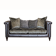 Alexander & James Isabel Midi Sofa Leather and Fabric (PremierCare Warranty Included) at Kings Interiors - Quality Handmade Home Upholstery Retailer based in Nottingham. Best Prices and Free Delivery in the UK