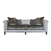 Alexander & James Isabel Maxi Sofa All Leather (PremierCare Warrenty Included)