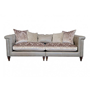 Alexander & James Isabel Maxi Split Sofa All Leather (PremierCare Warrenty Included)