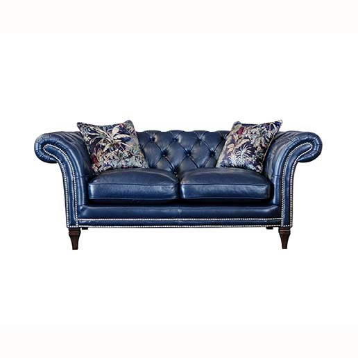 Alexander And James Paradise Small Sofa In Leather Kings