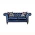 Alexander and James Paradise Small Sofa in Leather