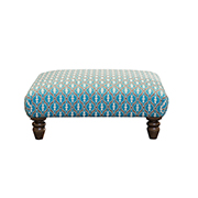 Alexander and James Artisan Footstool