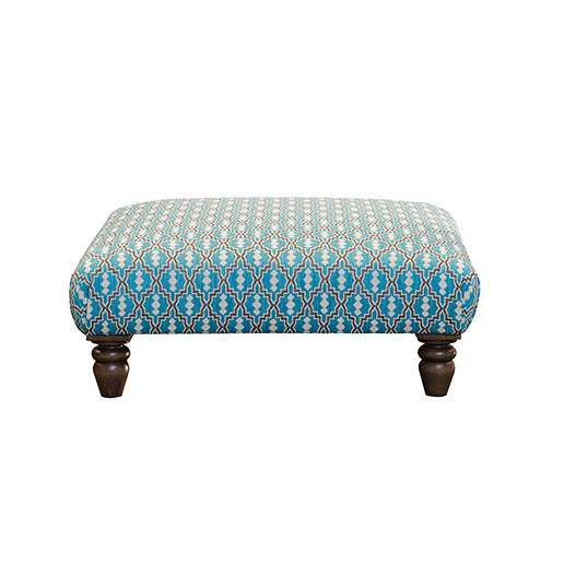Alexander and James Vivienne Footstool