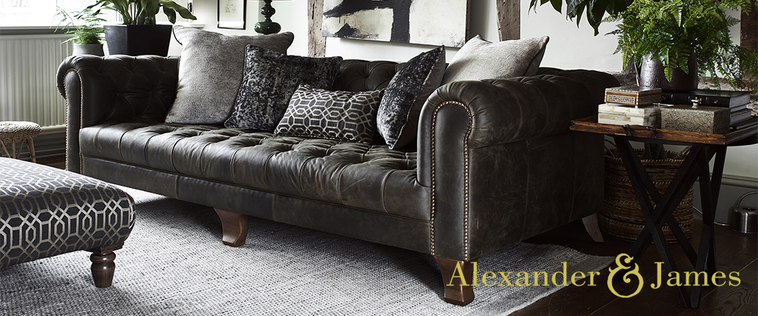 Alexander and James Sofas at Kings Interiors - Quality Handmade Home Upholstery Retailer based in Nottingham. Best Prices and Free Delivery in the UK.
