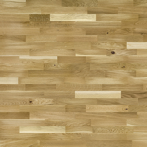 Basix Wood Flooring BF03 3 Strip Rustic Oak Lacquered