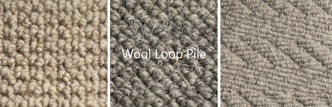 Wool Loop Pile Carpets at Kings of Nottingham we have the largest collection of loop pile carpets in the UK.