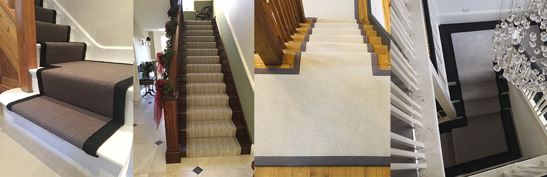 carpet runners and tapeing