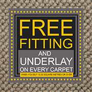 Carpet Your Lounge For £250 Including Underlay and Fitting