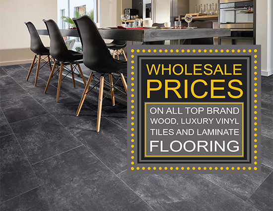 Wholesale Prices on All Wood Luxury Vinyl Tiles and Laminate Flooring