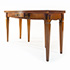 Italian Cherry Wood Expanding Console Table with Drawer 3