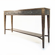 Jonathan Charles Metropolitan 494366 Console Table in Stock
