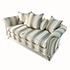 David Gundry Amalfi Scatter Back Sofa with Two Cha 4irs