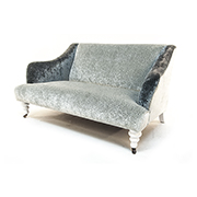 John Sankey Beckett Sofa in Osborn and Little Kuri Quartz Fabric SOLD
