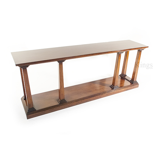 REH Kennedy Classic Console Table in Cherry Wood 3