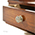 REH Kennedy Classic Lamp Table With Drawer in Cherry Wood 3