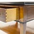 French Solid Cherry Wood Coffee Table With Drawer 3