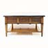 French Solid Cherry Wood Coffee Table With Drawer 4