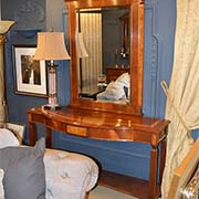 Charles Barr Grandeur Console Table with Mirror