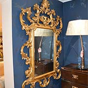 Christopher Guy Hand Carved Gold Mirror