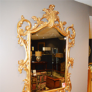 Christopher Guy Hand Carved Mirror Gold on Gold