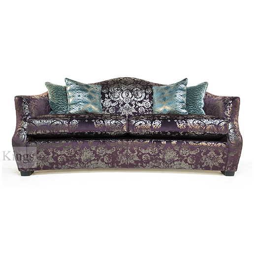 Duresta Manolo Medium Sofa in Charlotte Cassis