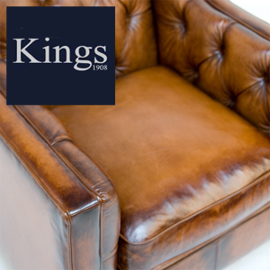 Contrast Upholstery Battersea Chair In Leather 2