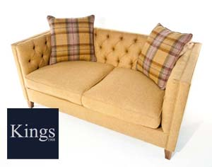 The Battersea Large Sofa in Fabric 2